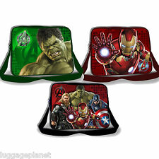 Marvel Comics Avengers Age of Ultron Lenticular 3D Kids Messenger Bag