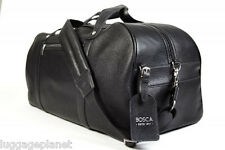Bosca Tribeca Leather Weekend Carry On Duffle Bag 6016-148