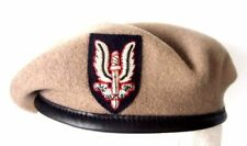 SAS - SPECIAL AIR SERVICE OFFICER BERET & BULLION WIRE CAP BADGE  52-62 cm