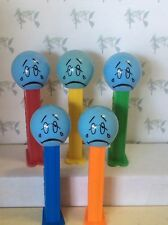 PEZ - Funky Faces - Sad Face -  5.9 Slovenia - Choose stem color