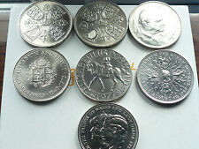 BIRTH YEAR CROWNS 1953/1981 (FIVE POUND SIZE) EX CONDITION CHOOSE WHICH YEAR *