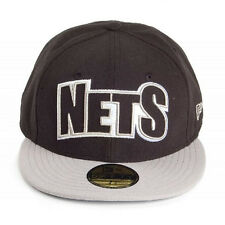New Era 59fifty Edge Up Brooklyn Nets 5950 Fitted Hat Cap