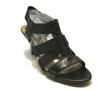 New! Naturalizer $89 Black Leather N5 Comfort Sandals Yazmin Women's Shoes 9.5