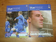 Oldham Athletic Home Football Programmes 2003/2004 Season
