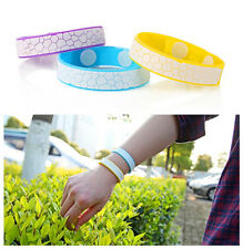 Mosquito Repellent Wrist Band Bracelet Insect Bug+Mosquito Repellent Oil