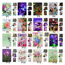 Butterfly Flower Buckle Universal Flip Stand Leather Case For Samsung Galaxy Tab
