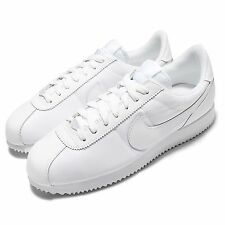 Nike Cortez Basic QS 1972 Pack All White Mens Casual Shoes Sneakers 842918-111