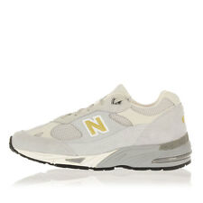 NEW BALANCE Women New Fabric and Chamois Sneakers Gray Original with Logo