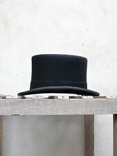 Black Wool Top Hat by Christys' of London – A UK Made Wool Felt Topper