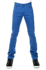 BALENCIAGA Men blue Stretch Denim Jeans Made in Italy New with Tag