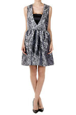 ALEXANDER MCQUEEN Women Patterned Sleeveless Dress New with Tag