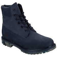 Womens Timberland 6 Inch Premium Boots In Navy From Get The Label