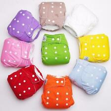 Baby Infant Cloth Diaper Nappy Cover Reusable Nappies Diapers Covers Inserts Lot