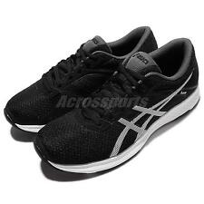 Asics Fuzor Black White Mens Running Shoes Sneakers Runner T6H4N-9001