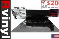 Rtint Blackout Smoke Tint Film Wrap for Head Tail Fog Lights Projector & More