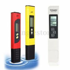 Portable Digital LCD PH Meter TDS EC Water PPM Filter Pool Hydroponic Tester Pen