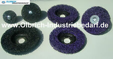 Cleaning Discs For Drill & Angle Grinder Various Diameters Black , Purple
