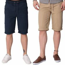 Loyalty &Faith Designer Mens Summer Cotton Elasticated Knee Length Casual Shorts
