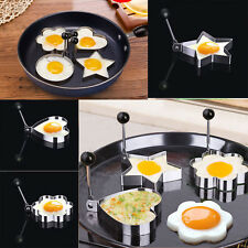 Creative Stainless Steel Omelette Mould Device Love Surprise Egg Ring Model
