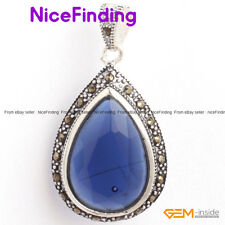 Fashion Women Jewelry Pendant Drip Beads Marcasite Silver Plated Christmas Gifts