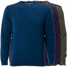 Mens Knitted Jumper Long Sleeve Crew Neck Pullover Top Sweater by Maddox Street