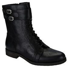 Womens Rockport Alanda Brogue Boots In Black From Get The Label