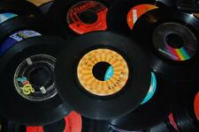 """Lot of 100 7"""" Vinyl Records 45 rpm for Crafting Art Decoration Party"""