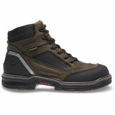 MEN'S WOLVERINE OVERMAN WATERPROOF SOFT TOE WORK BOOTS W10626