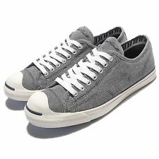 Converse Jack Purcell JP LP L/S OX Grey White Mens Casual Shoes Sneakers 154147C