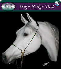 Miniature Horse Traditional Series Show Halter Set - Choose your bead color!