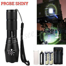 2000 Lumen 5 Modes CREE XML T6 LED Tactical Flashlight Torch Lamp 18650 Zoomable