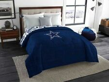 NEW Dallas Cowboys NFL Football Twin Full Size Comforter Sheet Set Bed In A Bag