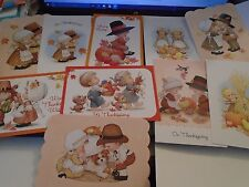 One Ruth Morehead Thanksgiving Greeting Card with Adorable Children