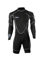 Tilos Mens Scuba Diving and Snorkeling 1mm Helios Long Sleeve Shorty Spring Suit
