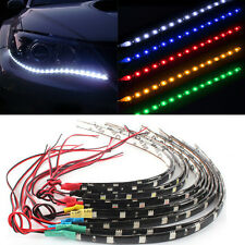 12V 30cm Waterproof  2PC 12 LEDs 5050 SMD LED Strip Light Flexible Car Decor CHI