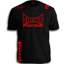 Stryker New Mens Mma Shorts Sleeve T Shirt Top Tapout UFC Boxing Karate Tee w