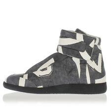 MARTIN MARGIELA MM22 Man Leather High-top Sneakers Made in Italy