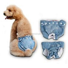 Female Dog Puppy Health Physiological Pants Sanitary Diaper Underwear Size S/M/L