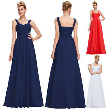 Women Long Formal Dress Ball Gown Prom Party Maxi Evening Bridal Dresses Wedding
