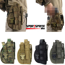 Tactical Molle Quick Holster Right Hand Paddle Holster for Panel Pistol 1911