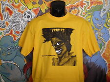 "The Cramps ""Bad Music.."" Shirt Lux Interior Poison Ivy Punk Rockabilly"