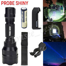 2500LM 5 Modes Cree T6 LED Flashlight Tactical Military Torch+Battery+Charger