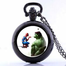 Necklace Spider Hulk Pocket Retro Pendant Watch New Quartz Vintage Antique Gift