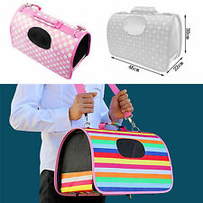 Soft Dog Pet Cat Puppy Portable Travel Carry Carrier Tote Cage Kennel House Bag