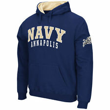 Stadium Athletic Navy Midshipmen Navy Double Arches Pullover Hoodie