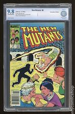 New Mutants (1983 1st Series) Canadian Price Variant #9 CBCS 9.8