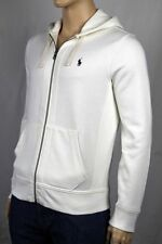 Polo Ralph Lauren Off White Cream Hoodie Zip Sweatshirt NWT