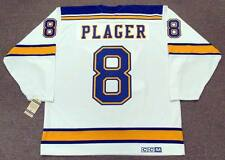 BARCLAY PLAGER St. Louis Blues 1967 CCM Vintage Throwback Away NHL Hockey Jersey