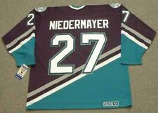 SCOTT NIEDERMAYER Anaheim Mighty Ducks 2006 CCM Throwback Away NHL Hockey Jersey