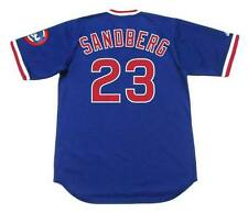 RYNE SANDBERG Chicago Cubs 1984 Majestic Cooperstown Throwback Baseball Jersey